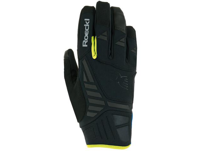Roeckl Reintal Bike Gloves black/yellow
